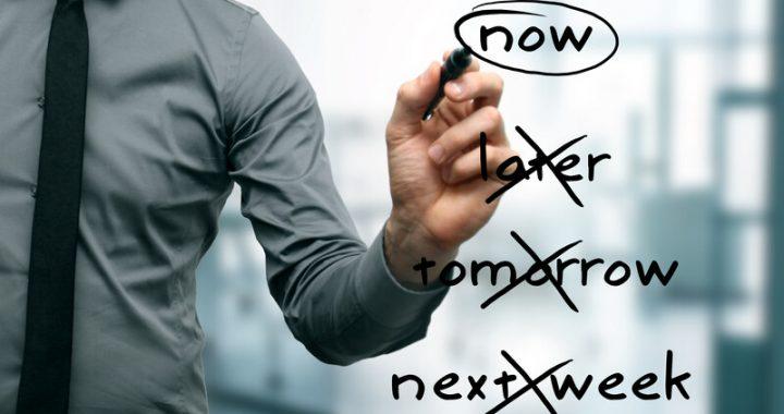 Don't wait for procrastination to destroy your productivity